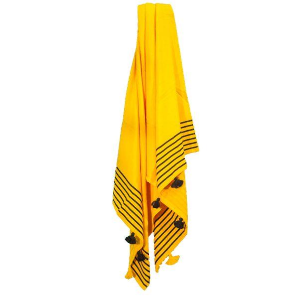 CAPRI-Towel_Yellow