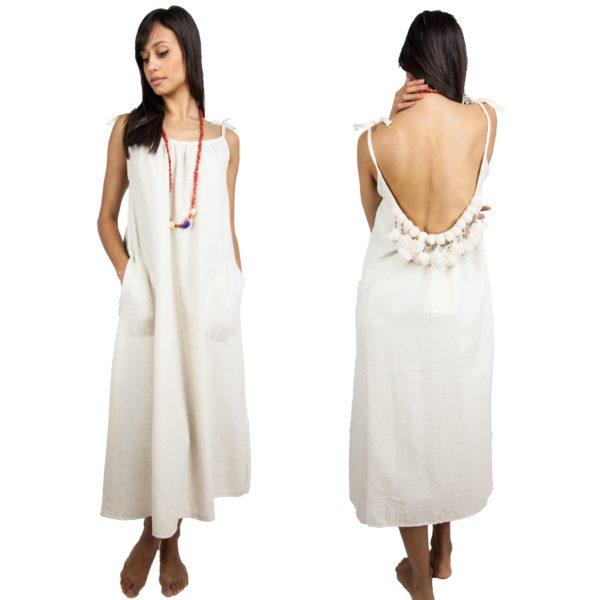 2357-Pompom Dress