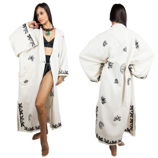2702-Block-Print-Boho-Kimono