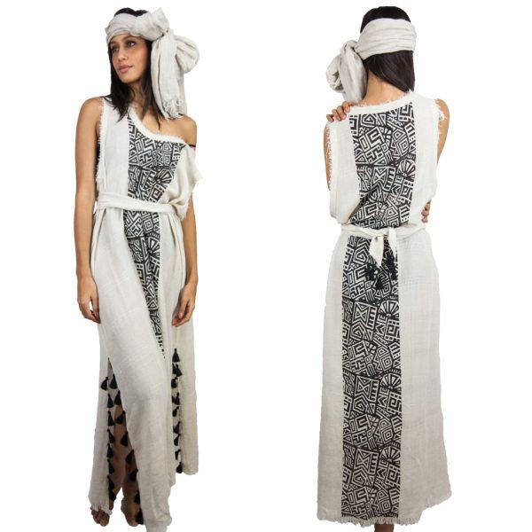 2736-Linen-Oversized-Maxi-Dress