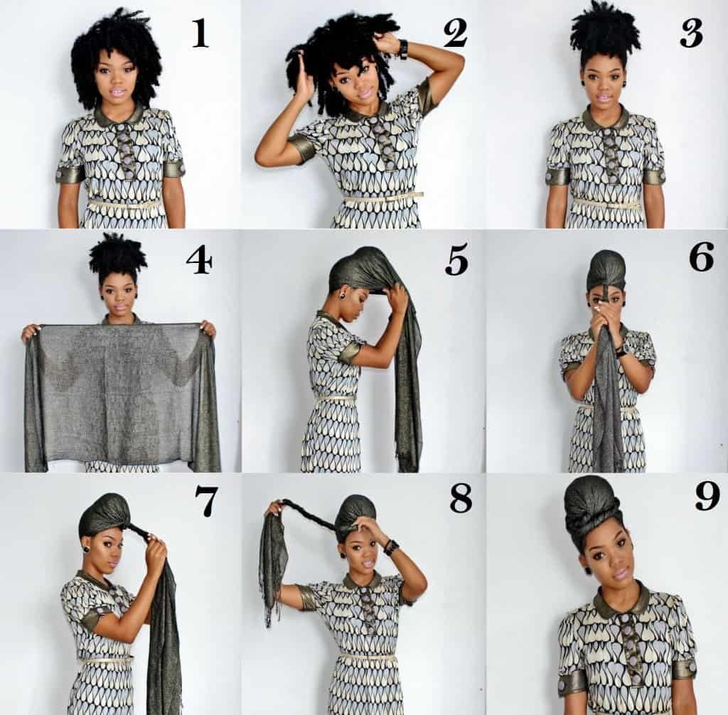 8.scarves-twisted-turban-over-bun-naturalhairhow10