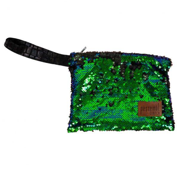 Payette-Green-Blue-Black-Clutch