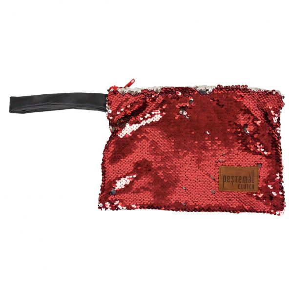 Payette-Red-Grey-Clutch