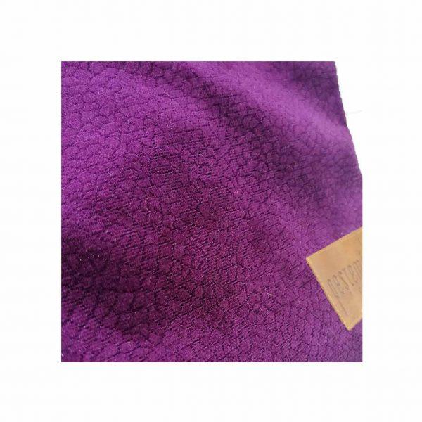Clutch-Purple-Suede-closeup