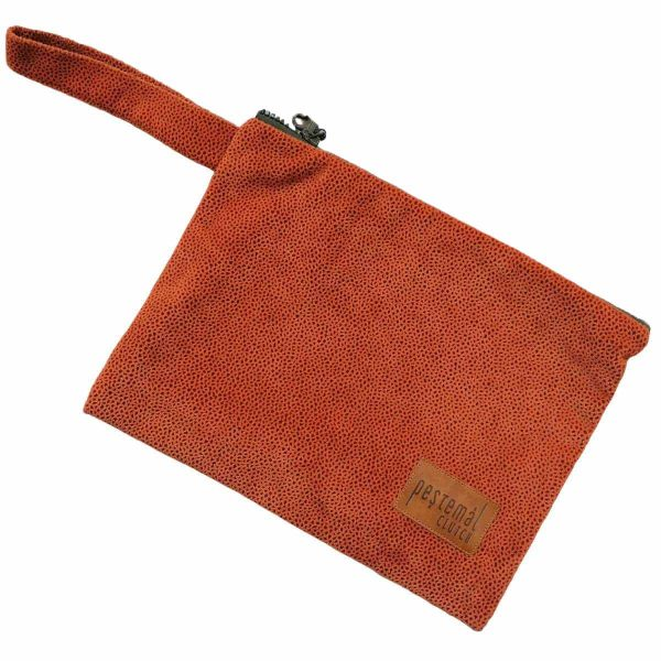 Clutch-Taba-Suede